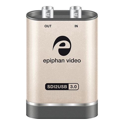 Epiphan SDI2USB 3.0 frame grabber