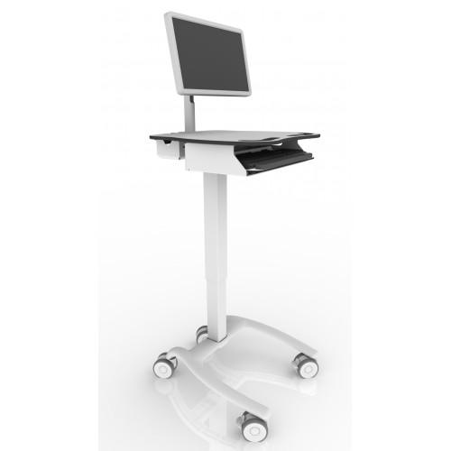 Mobiele all-in-one medische werkplek