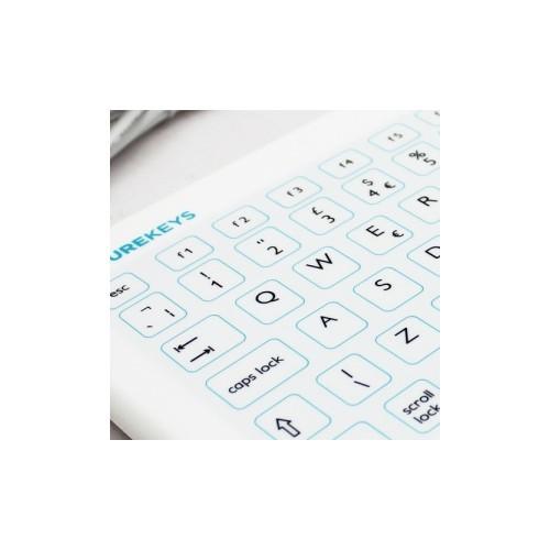 Extra silicone cover Purekeys USB keyboard