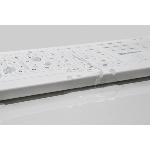 Purekeys wireless medical keyboard