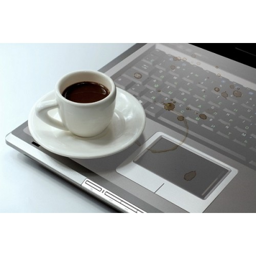 Drape laptop keyboard cover