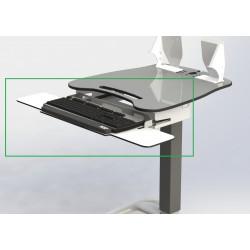 DB5 keyboard tray w/ mouse trays