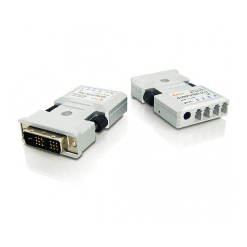 DVI Isolator STD 4 x Fiber Optic