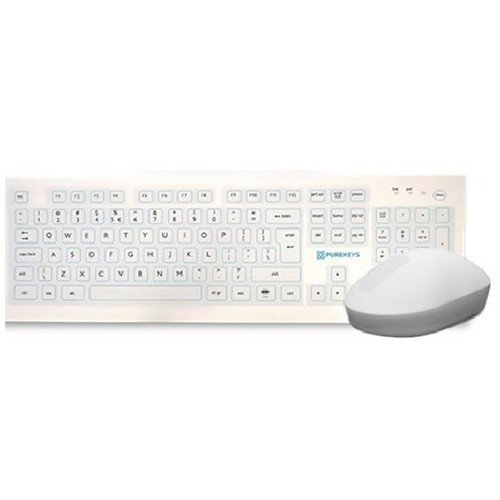 Belgisch Purekeys wireless keyboard+mouse bundel AZERTY