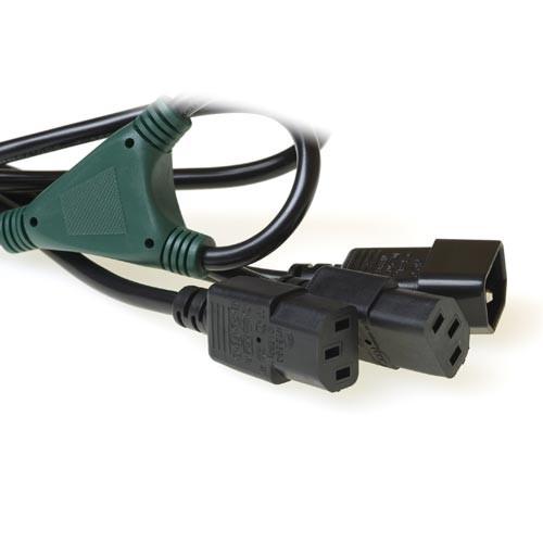 230V Powersplit verlengkabel 1.80M