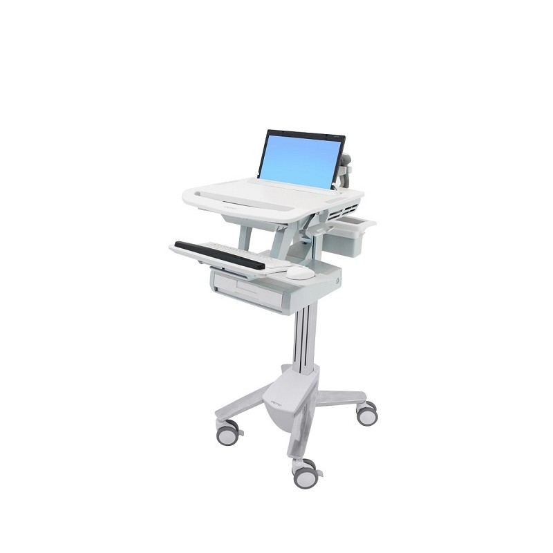 Ergotron StyleView® Laptop Cart, 1 drawer