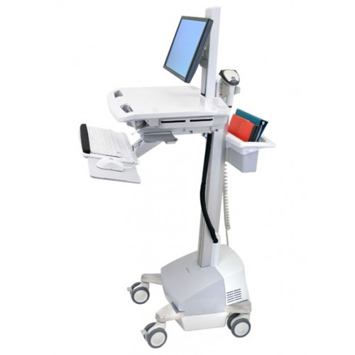 Ergotron StyleView® Cart met displayhouder, SLA Powered