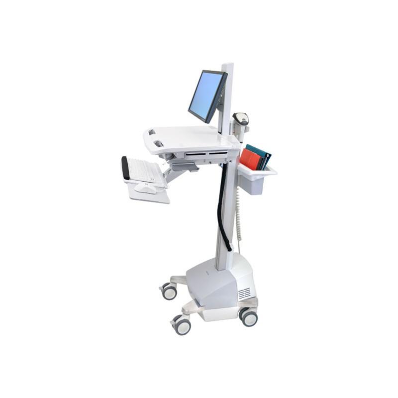 Ergotron StyleView® Cart met displayhouder, SLA Powered