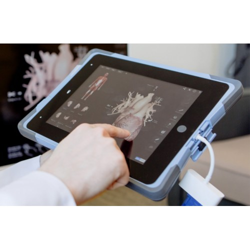 FlipPad medical iPad case
